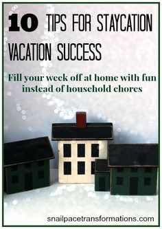 10 tips for a successful and thrifty staycation.
