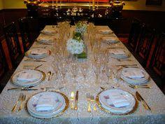 CHEZ L'AMI LOUIS: Cómo poner una mesa formal