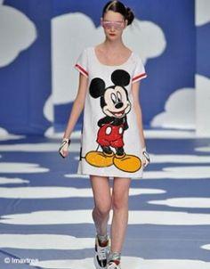Mickey Mouse à la une! Jean Charles de Castelbajac - printemps/été 2009