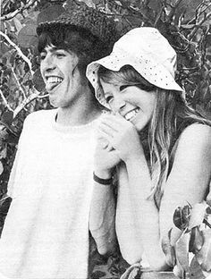 pattie boyd and gorge harrison, i love, love, love this pic!
