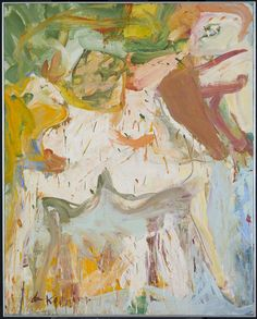 Willem de Kooning 'The Visit', 1966–7 © Willem de Kooning Revocable Trust/ARS, NY and DACS, London 2016