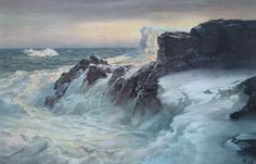 March North Atlantic by Frederick Waugh