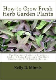How to Grow Fresh Herb Garden Plants: The Beginner Guide to Growing Herbs in Pots, Planting a Tea Herb Garden and Herb Garden Designs Vegetable Garden Tips, Veg Garden, Garden Plants, Growing Herbs In Pots, Starter Garden, Small Herb Gardens, Types Of Herbs, Herb Garden Design, Garden Guide