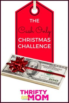 The Cash Only Christmas Challenge from Thrifty Little Mom! Grab your free Printable Cash Only Christmas Challenge Kits including a $500 budget, a $750 budget, a $1000 budget and a blank budget so you can fill in your own!