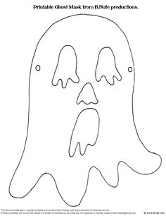 Printable Halloween Masks by B.Nute productions Remember the craft activities you did at your school Halloween party in elementary school. Printable Halloween Masks, Halloween Clipart, Halloween Prints, Halloween Ghosts, Halloween 2019, Halloween Diy, Halloween Coloring Pictures, Halloween Coloring Sheets, Moldes Halloween