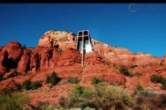Church of the Red Rocks - Sedona, Arizona. God's Color Pallet