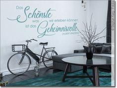 """Wandtattoo Zitat /""""Wer immer tut/"""" Wandzitat Wohnzimmer Wandspruch Deko"""