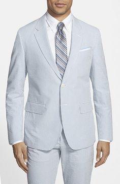 Haspel Trim Fit Seersucker Cotton Sport Coat available at #Nordstrom