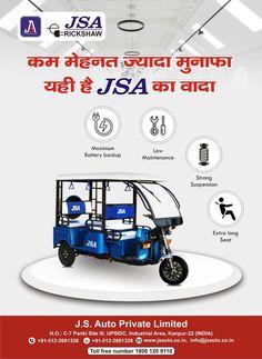 JSA - J. S. Auto Private Limited #India #Kanpur #auto #cars #vehicles #automobile #automotivemarketing #socialmedia #socialnetworks #salespromotion #digitalmarketing #rickshaw Social Networks, Social Media, Sale Promotion, Digital Marketing, Automobile, India, Cars, Vehicles, Car