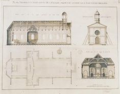 The Collins C. Diboll Vieux Carré Survey: Property Info St Louis Cathedral, Jackson Square, Street Image, French Colonial, 4th Street, Topographic Map, French Quarter, Architecture, Arquitetura