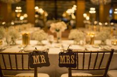 Mr & Mrs Chair decor