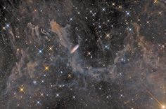 APOD: 2012 October 13 - Galaxies, Stars, and Dust