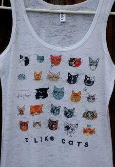 cool Cats Tank Top