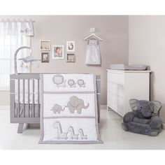 Trend Lab Safari Chevron 3-piece Crib Bedding Set | Overstock.com Shopping - The Best Deals on Bedding Sets