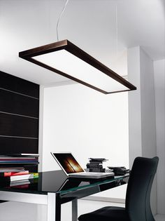 Linea Light Girevole Two Light Pendant Meeting room?