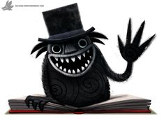 I absolutely loved the pop-up book in the film. ----------------------------------------------------- For high-res versions, WIP's and time. Daily Paint The Babadook Halloween Images, Halloween Horror, Halloween Ideas, Horror Fiction, Horror Movies, Godzilla, The Babadook, Fantasy Tv, Up Book