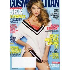 Cosmopolitan Magazine | Ashley Benson | Spring Fashion & Beauty | Pretty Little Liars | March 2014