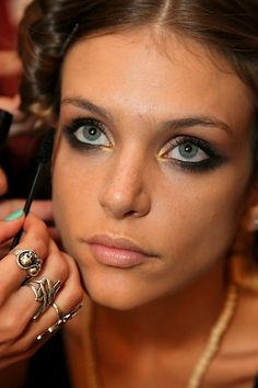 2013 TRENDS: 5 Hot Summer Makeup Looks From Make Up For Ever - Mercedes-Benz Fashion Week Swim in Miami Show | BeautyStat.com