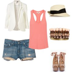Summer..., created by riac on Polyvore