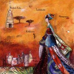 "Catherine Rebeyre : ""Niokolo Koba"" Magic Women, Illustration, Images, Sculpture, Photographs, Paintings, Color, Fashion, Art"