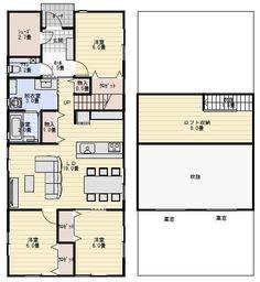 平屋間取り Yahoo, Floor Plans, Floor Plan Drawing, House Floor Plans