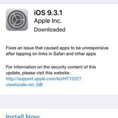 Satunnaisissa iOS laitteissa esiintynyt linkkien virhe on nyt viimein korjattu. Lataile päivitys. #ios #linkkiongelma #potkukelkkacom #t