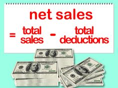 How to Calculate Net Sales -- via wikiHow.com