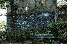 Paris - Abbesses - Mur Je t'aime