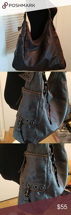 MARCO BUGGIANI Made in Italy HOBO  Handbag Pre owned in good condition but does show wear. MARCO BUGGIANI  Bags