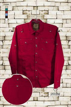 Ropa-de-moda-camisa-manga-larga-color-rojo-ref-200316