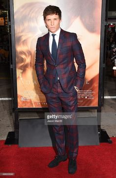 Actor Eddie Redmayne attend the premiere of Focus Features' 'The Danish Girl' at Westwood Village Theatre on November 21, 2015 in Westwood, California.