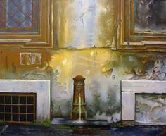 Fuente,  cuadro de Cristina Segura