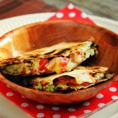 Quesadilla met kip