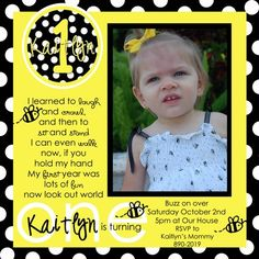 Bumble bee birthday party invitations bumble bee birthday invitation bumble bee birthday party invitations bumble bee birthday invitation printable and printed i love the outfit alessas first birthday pinterest bumble filmwisefo Images