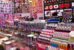 Korean beauty shop - stock up high!