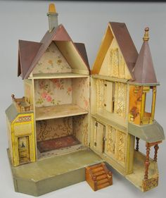 BLISS DOLLHOUSE WITH TOWER. Live auctioneers.