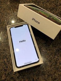 Apple iPhone XS Max 256GB Space Gray AT&T $1080.0 #iPhone8Plus Get Free Iphone, New Iphone, Apple Iphone, Iphone Cases, Apple Smartphone, Apple Laptop, Apple Packaging, Modelos Iphone, Accessoires Iphone