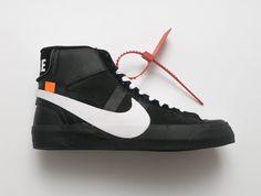"d653327160ec6 New Off-White x Nike Blazer Studio Mid ""Black"" Dropping Next  Month-KicksVogue"