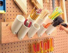 16 IDEIAS UTILIZANDO CANO PVC - Topa Decorar? ♥ Decoração, Construção e DIY