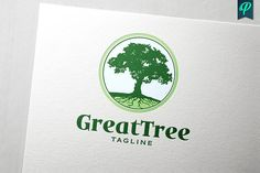 GreatTree Logo Design by PenPal on @creativemarket