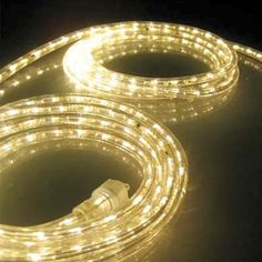 coiled rope lights: run rope lighting along the bathroom vanity toekick for a soft ambient night-light. Outdoor Rope Lights, Led Rope Lights, Indoor String Lights, Outdoor Lighting, Rope Lighting, Lighting Ideas, Landscape Lighting, Pewabic Pottery, Home Upgrades