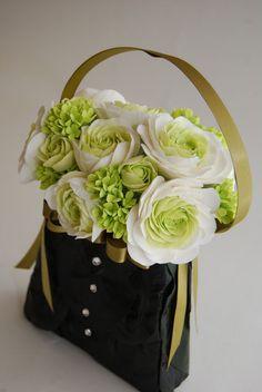 Pocket full of posies - flower girl purse