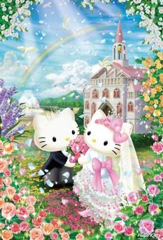 Hello Kitty | Puzzle | 300 Pcs Sweet Wedding 33-057 (japan import) by beverly, HELLO KITTY to buy just click on amazon here                    http://www.amazon.ca/dp/B00827PBFM/ref=cm_sw_r_pi_dp_SwJusb1SVC9ZB