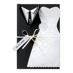 via fontana 30 Love Shape Wedding Invitation