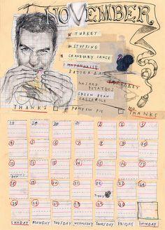 by David Fullarton for the Doodlers Anonymous Calendar 2012 Sketchbook Inspiration, Art Sketchbook, Journal Inspiration, Daily Inspiration, Collage Illustration, Collage Art, Collages, Journaling, Plastic Art