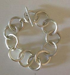 sterling silver bracelet : Barbara Beamiss