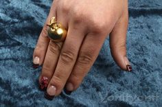 Bird Ring Flying Bird Gold Dove Pigeon 18k Yellow by YonitYonit