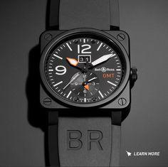 New Bell & Ross Aviation BR 03-51 GMT