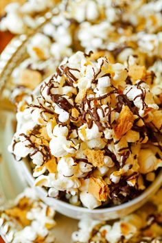 S'mores Popcorn Mix