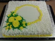 Lace Anniversary Cake